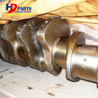 6D170 S6D170 Cast Steel Crankshaft For Excavator Diesel Engine Part