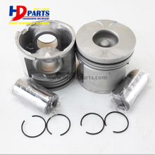 2KD Cast Iron Piston Kit With Oil Gallery Alfin Piston 13101-30030 13011-30060 For Toyota