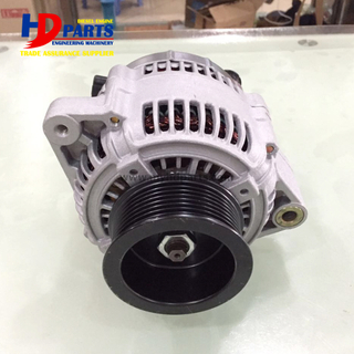 Diesel Engine Alternator 6D107 PC200-8 PC220-8 QSB6.7 Alternator 24V 80A For Construction Machine
