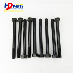 Cylinder Head Screw 4JG1 4JG2 4JG2T Cylinder Head Bolt For Isuzu Diesel Engine