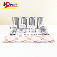 Genuine Excavator Engine Parts For Engine 4BE1 Liner Kit