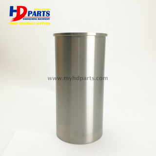Diesel DL08 Engine Cylinder Liner For Doosan Daewoo Excavator Parts