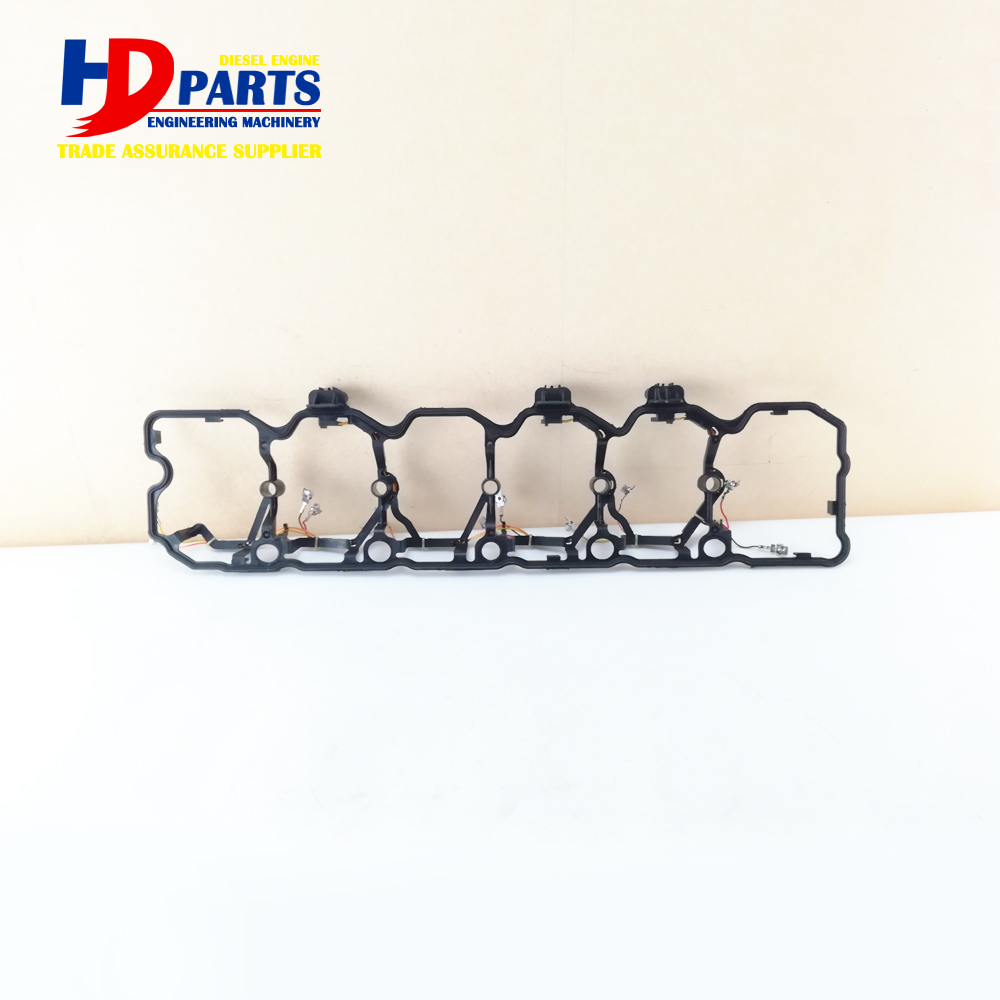 Excavator Diesel Engine QSB6.7 Rocker Arm Cover Gasket No 5367848