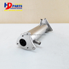 Diesel Engine Parts 4HK1 6HK1 EGR Pipe For Excavator Forklift Isuzu Engine