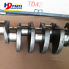 Heavy Machinery Repair Parts TD42 Crankshaft For Nissan Diesel Engine