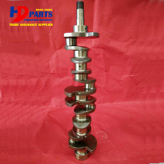 Diesel 6BG1 6BG1T Forged Steel Crankshaft OEM Number 1-12310-448-0 For Isuzu Engine