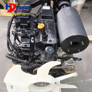 Original New 4TNV106 Engine Assy For Yanmar 4TNV106T Complete Engine For Excavator 74.5KW