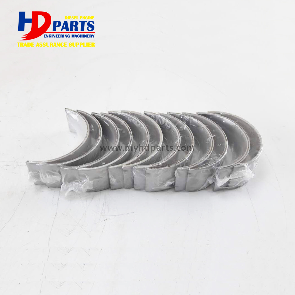 6HK1 Crankshaft Bearing and Connecting Rod Bearing For Excavator Diesel Engine