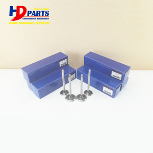 Diesel Engine Part D6E Valve Intake And Valve Exhaust For Volvo Engine