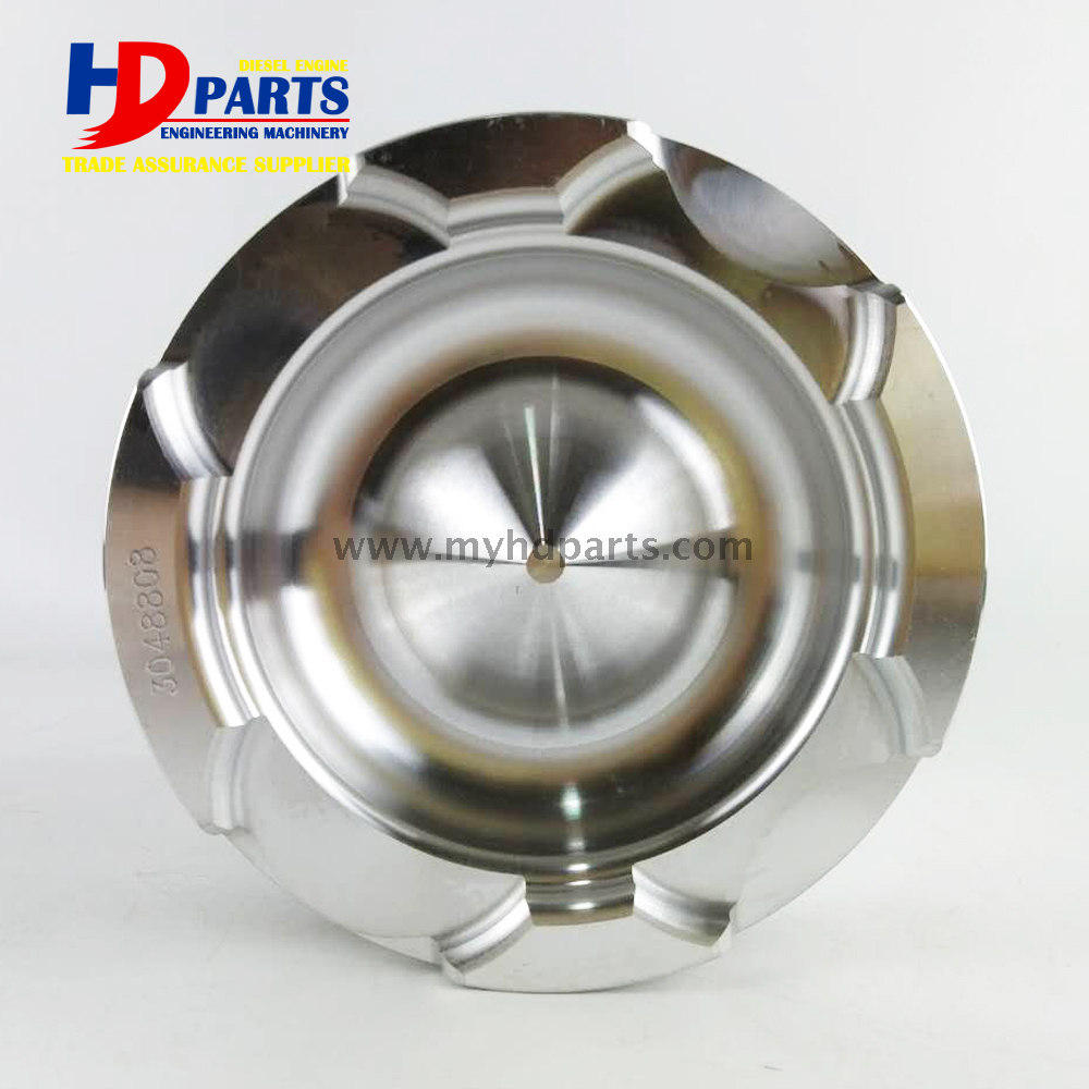 NT855 NTA855 Pistons Construction Engine Spare Piston With Pin OEM 3017348 3017349 3048808