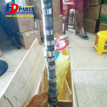 Diesel Engine Camshaft Part C-9 Forged Steel Camshaft With Gear