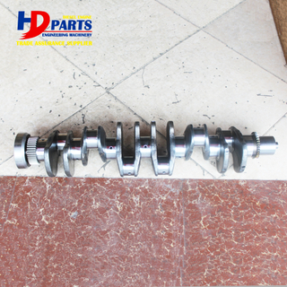 Diesel Engine Part 6D107 Crankshaft Forged Steel For Komatsu Engine Part