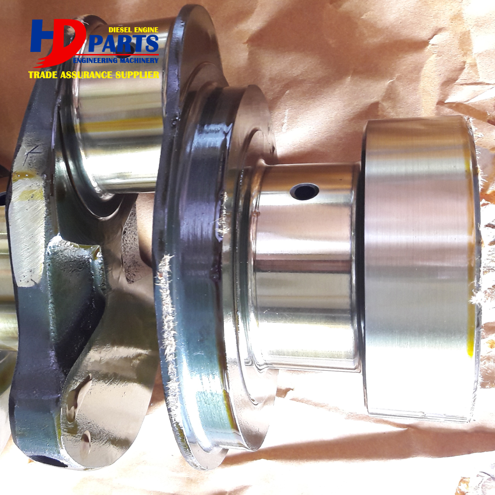 Cast Steel Crankshaft S4D106 4TNV106 Crankshaft 4D106 Mainshaft For Diesel Engine Part