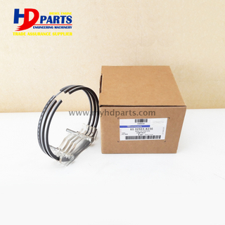 New Doosan Daewoo Diesel D2366 DE12 Engine Parts 65.02503-8236 Piston Ring Set