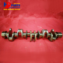 Diesel Engine Parts 6HK1 Cast Iron Crankshaft For Isuzu Diesel Engine