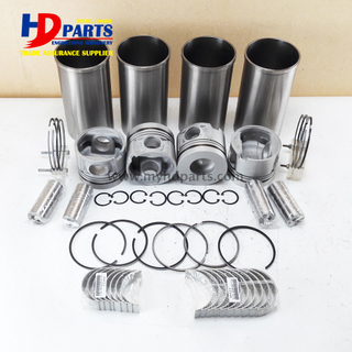 FD46 Diesel Engine Parts Piston Cylinder Liner Kit Rebuild Kit For Nissan