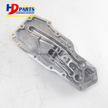 Excavator PC200-7 Diesel 4D102 Engine spare Part Oil Cooler Cover 6735-61-2220