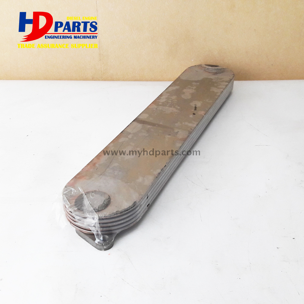 Isuzu 6HK1 Oil Cooler Core for Hitachi Excavator ZAX330 Engine