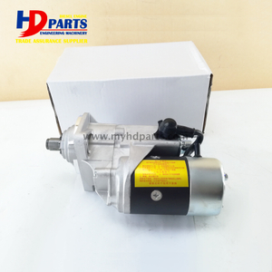 6BG1 Diesel Engine Starter Motor With 11T For Isuzu