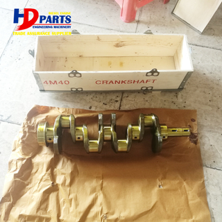 Diesel Engine Spare Parts 4M40 Crankshaft Mainshaft For Mistubishi Engine Part