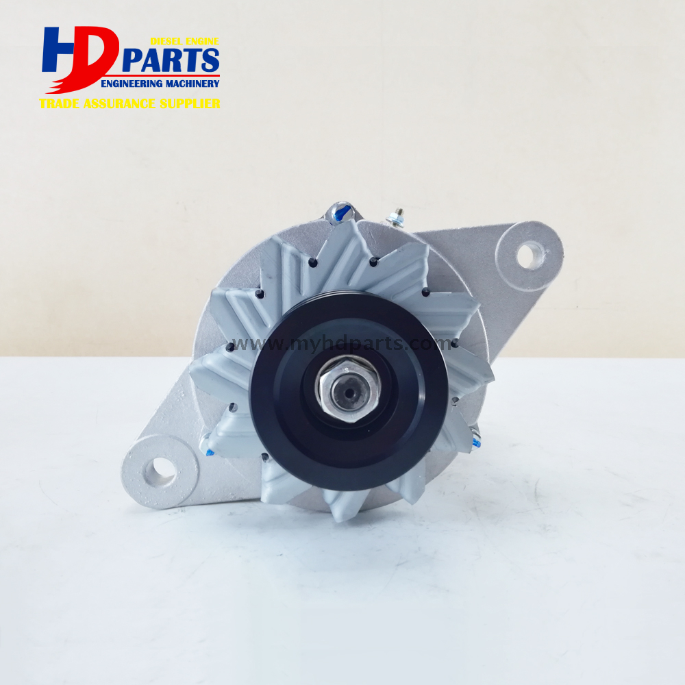 Buy 6BG1 Diesel Engine Alternator For Isuzu EX200-6 Hitachi