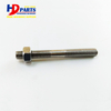 C7 C9 3126 Engine Spare Parts For Exhaust Manifold Pipe Bolt