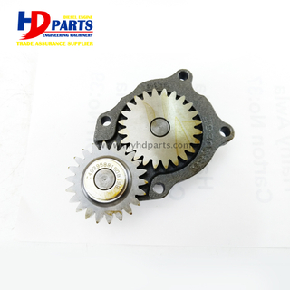 Excavator Diesel Engine Spare Parts QSB4.5 Oil Pump For Cummins Engine