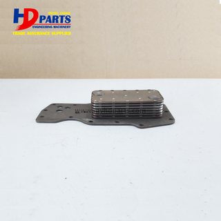 6D107 Diesel Engine Parts Aluminum Oil Cooler Core QSB6.7 Oil Radiator Core 3975818