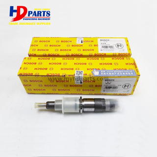 S6D107 QSB6.7 6D107 PC200-8 BOSCH Common Rail Fuel Injectors 0445120059