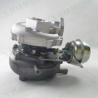 Construction Machinery Excavator VQ40 GT2052V Turbo Charger With Valve Engine Repair Parts 14411-EB700