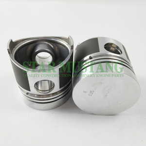 Construction Machinery Excavator V1502 Piston With Pin Flat Bottom Engine Repair Parts 15221-21111