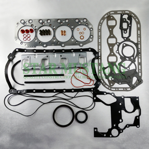 Construction Machinery Excavator 4JG1 Full Gasket Kit Diesel Engine Overhaul Repair Parts