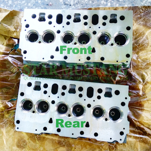 Construction Machinery Excavator DE12T Cylinder Head Engine Repair Parts