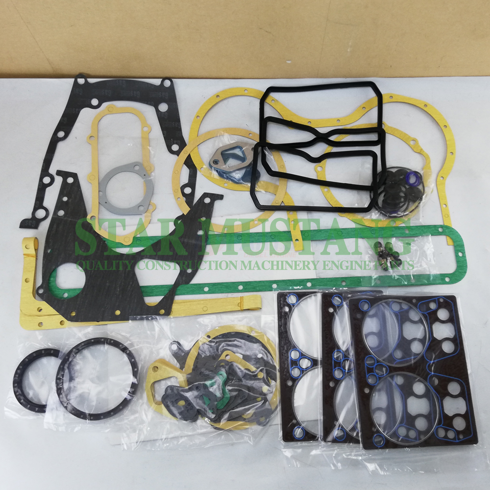 Construction Machinery Engine Parts Full Gasket Kit DE08