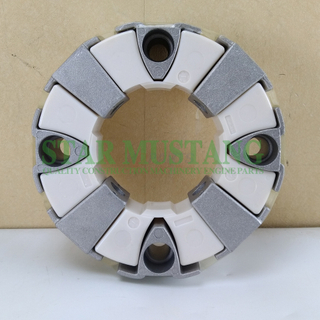 Excavator Parts Rubber Coupling Assy 50H For Construction Machinery