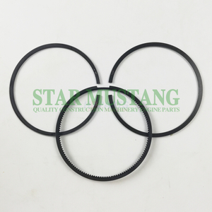 Construction Machinery Excavator YC6108G Piston Ring Sets Engine Repair Parts
