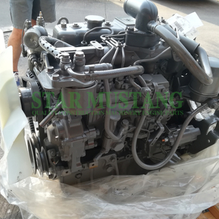 Construction Machinery Excavator 4JG1 Diesel Engine Assembly Repair Parts