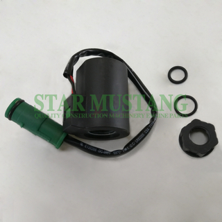 Construction Machinery Excavator EC210 Solenoid Coil 12V 24V Electronic Repair Parts