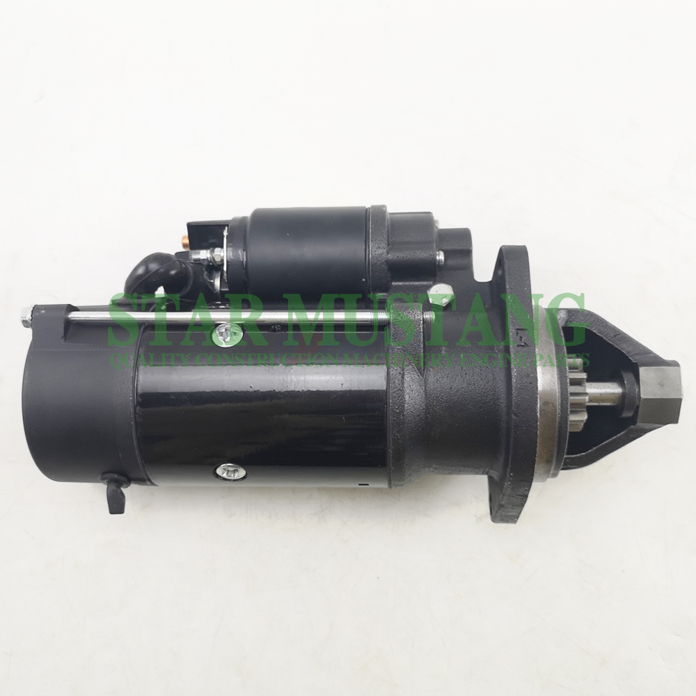 Construction Machinery Excavator C4.4 E313 Starter Motor 24V 10T Engine Repair Parts QD2513B
