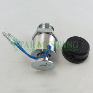 Construction Machinery Diesel Engine Spare Parts Excavator Stop Switch S4L 30A87-00061