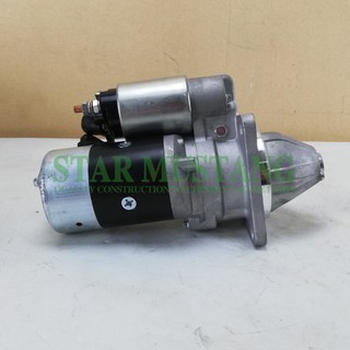 Construction Machinery Diesel Engine Spare Parts Excavator Starter Motor FD6 FD33 24V 4.5KW 11T