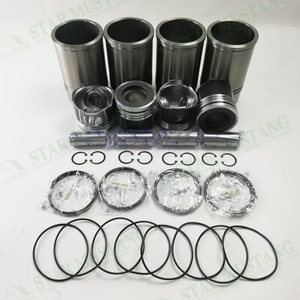 YN4100 Cylinder Liner Piston Ring Kit For Yunnei
