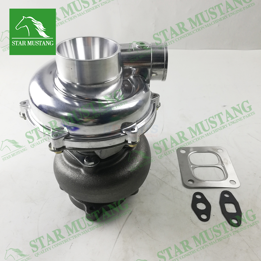 Construction Machinery Excavator 6BG1T EX200-5 Turbo Charger Engine Repair Parts 114400-3320