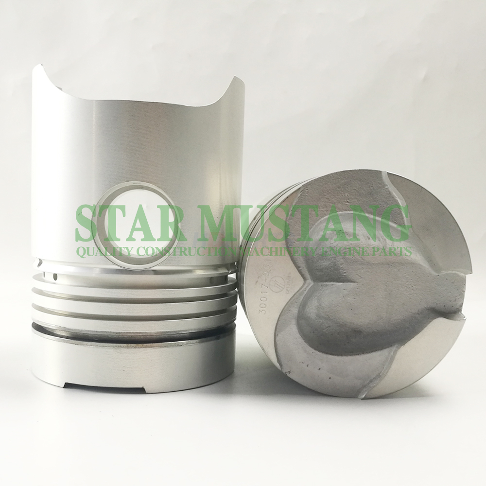Machinery Excavator 6DB10 Piston With Pin Height 153mm Engine Repair Parts 30017-93101