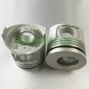 Construction Machinery Excavator 6HE1-T Piston With Pin Oil Ring 3mm Engine Repair Parts