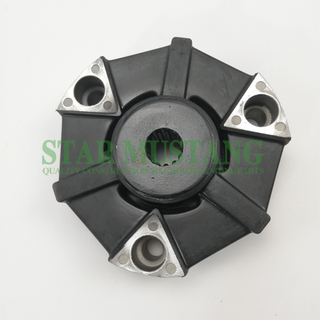 Excavator Parts Rubber Coupling 4TNV88 Ourter diameter 146mm For Construction Machinery