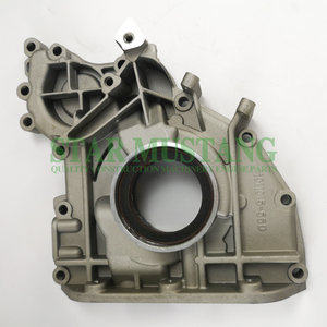 Construction Machinery Excavator D6D D6E Oil Pump 3 Teeth Engine Repair Parts 1011015-56D