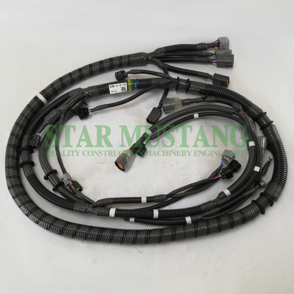Construction Machinery Excavator 6WG1 Engine Wiring Harness Electronic Repair Parts
