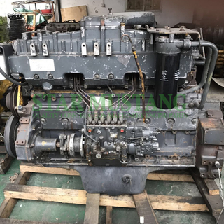 Construction Machinery Excavator 6D125 PC400-6 Diesel Engine Assembly Second-Hand SA6D125E-2