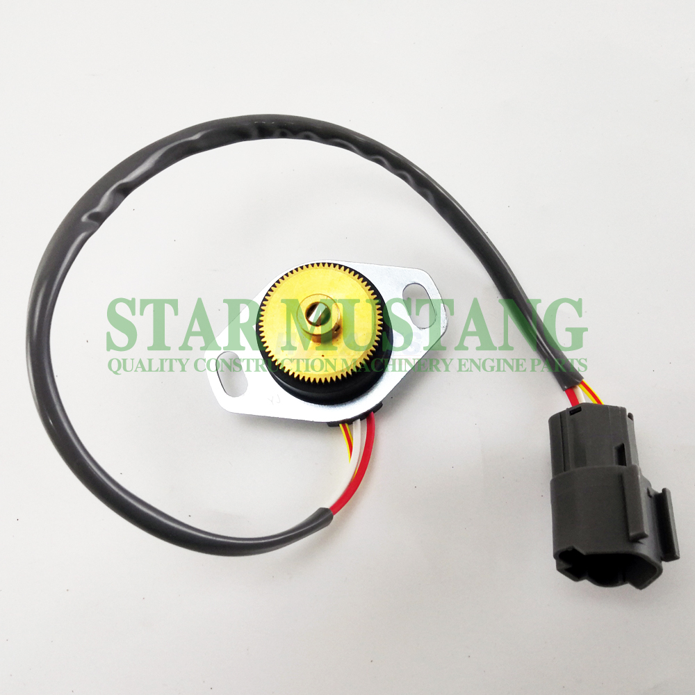 Construction Machinery Excavator PC200-6 Throttle Positionor Sensor Electronic Repair Parts